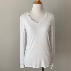 Calvin Klein Long Sleeve T-Shirt Liquid Jersey Sm
